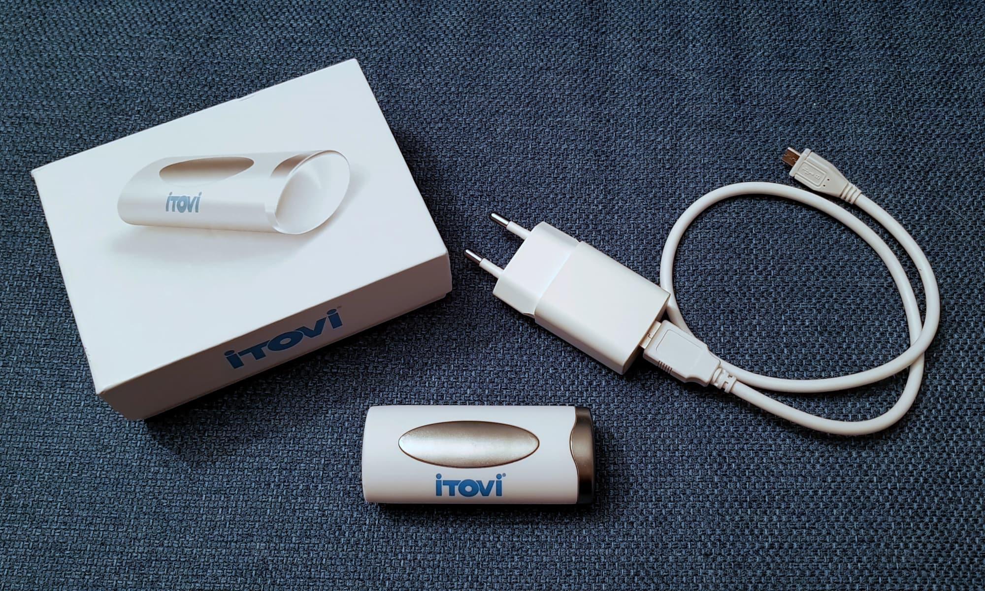 Der neue iTOVi 2.0 nebst Verpackung