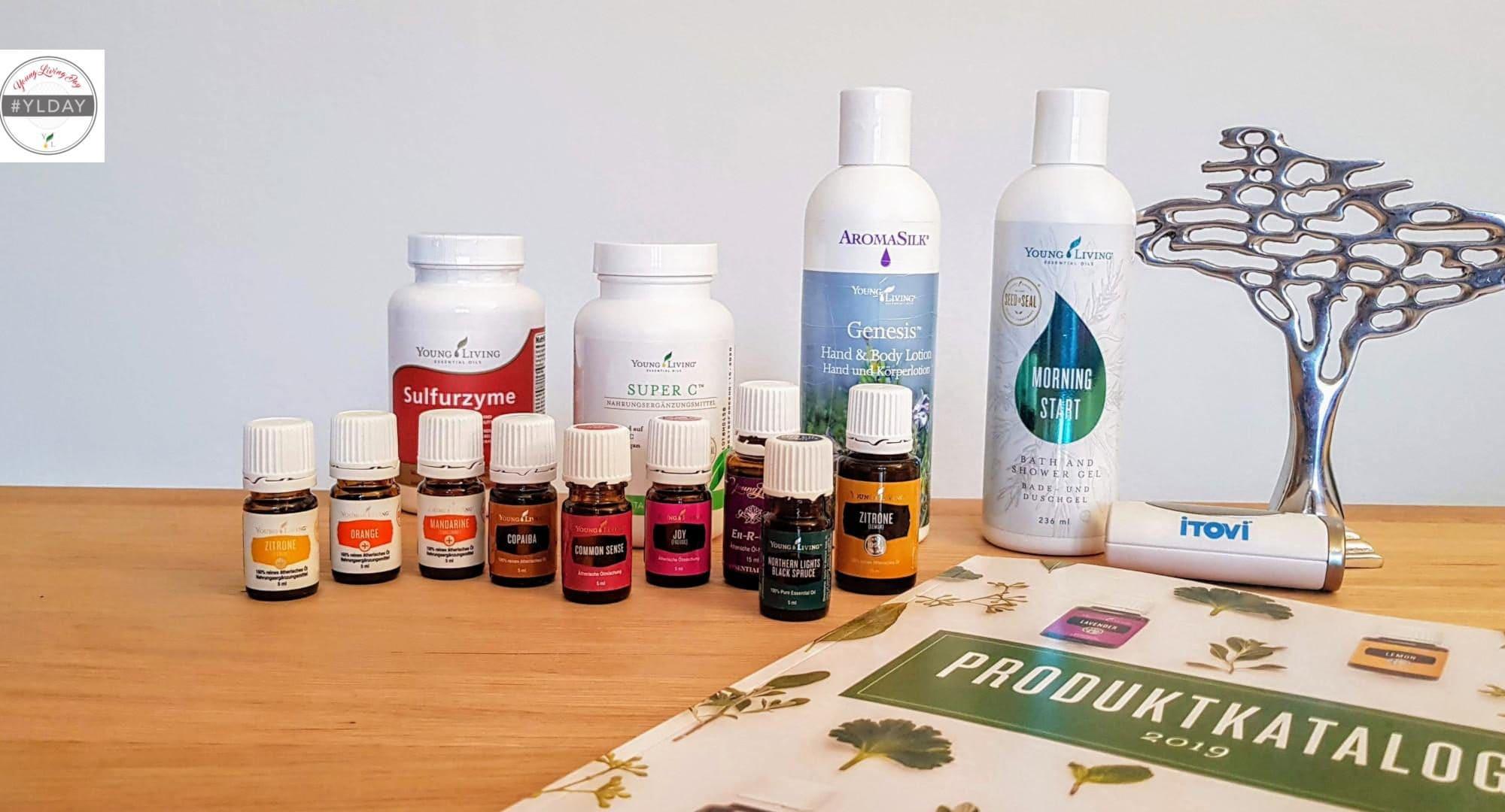 Ätherische Öle und Produkte, die perfekt für den Frühling sind.