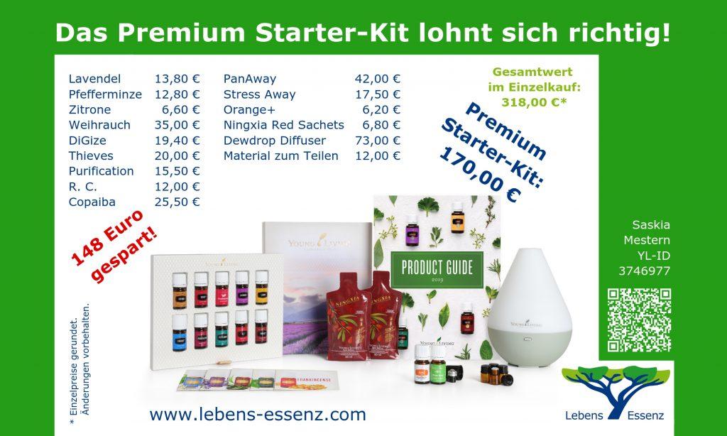 Das Premium Starter-Kit lohnt sich richtig!