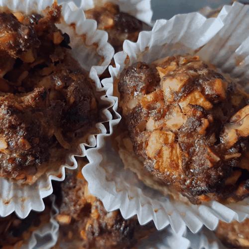 Mexikanische Rinderhackbällchen in Muffinförmchen