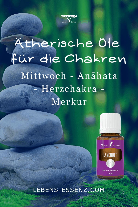 Ätherische Öle für die Chakren - Herzchakra - Lavendel